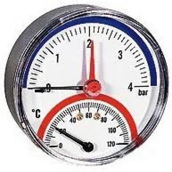 """Термоманометр TMAX 6-1/2"""" Wester"""