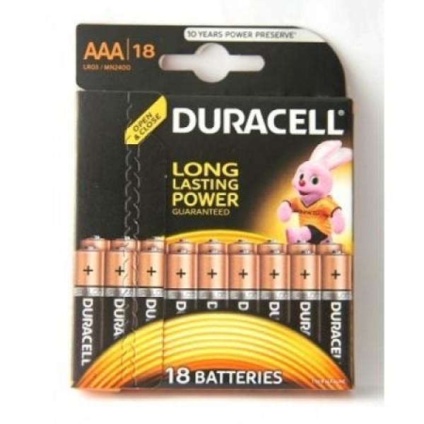 Батарейки Duracell ААА 4шт., блистер (917-076)