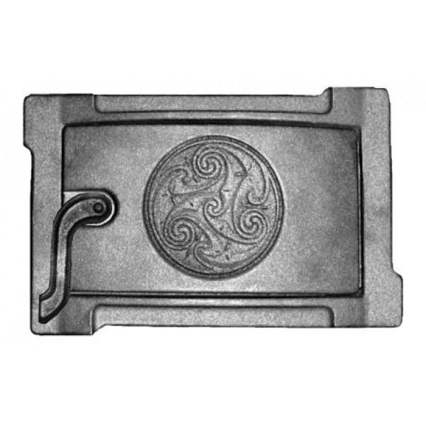 Дверка поддув уплотненная ДПУ-2Б (250*140) (П7777)