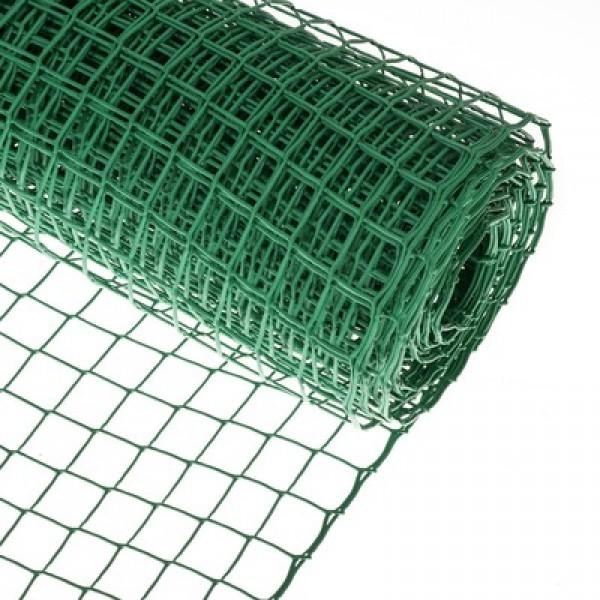 Сетка для птичников 1*20м зеленый