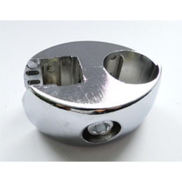 ДЖ держатель проходной одинарный д/плиты и стекла б/вкладки (М8597)
