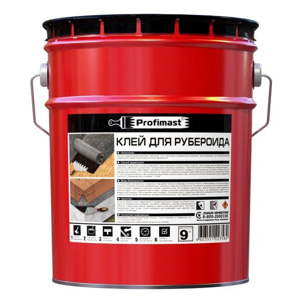 Клей для рубероида 10л PROFIMAST
