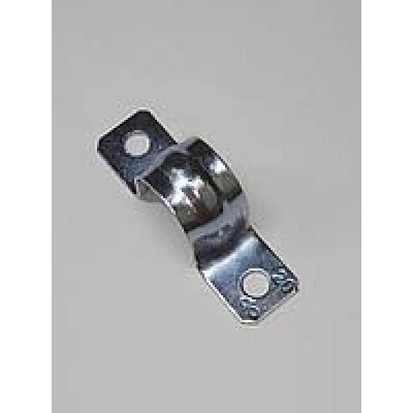 Скоба СВЕТОЗАР металлические D31 мм, двухлапковые, для крепления металлорукава d=25мм, (60212-25-50)