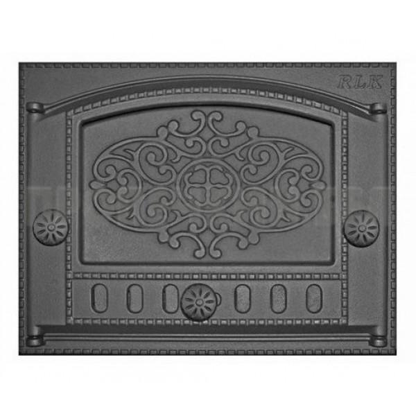 Дверка каминная топочная ДК-2Б `Евгений` RLK 315 (Рубцовск) 435х320х92 (375х300) (мин 1   1)(п8269)