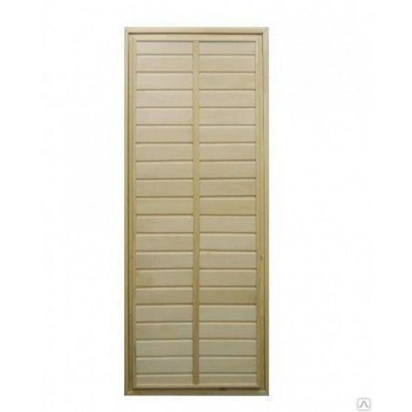 Дверь банная глухая ЛИПА сорт А 1800*700 (94297)