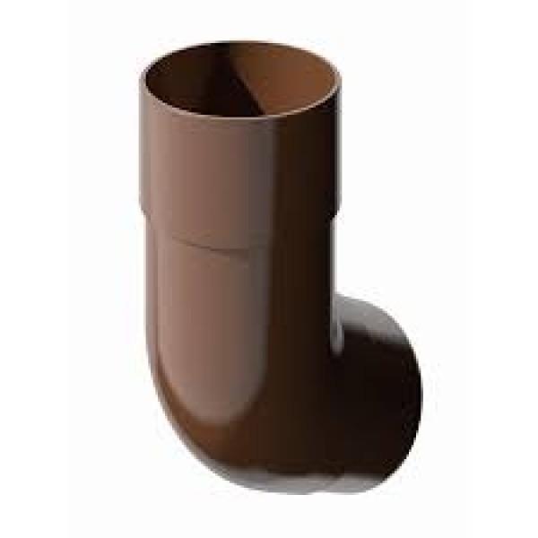 В/сток Колено трубы 135гр, коричневый Verat