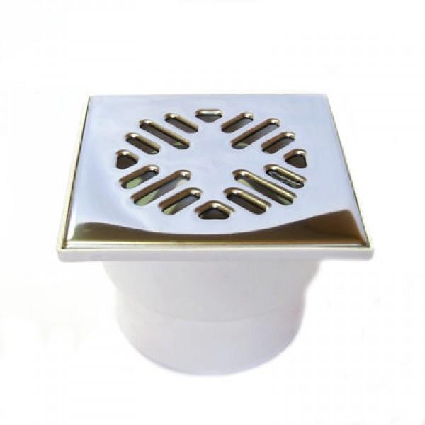 БЕЛ 110 трап прямой 15х15 с металл. решеткой (13043)