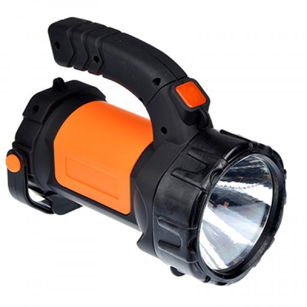 Фонарь 1 LED + 1 COB, 3ВТ + 3ВТ, аккумулятор 2400МАЧ, USB, 17х13см (223-005)