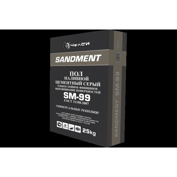 """См Наливной пол """"Sandment"""" SM-95  25кг (56)"""