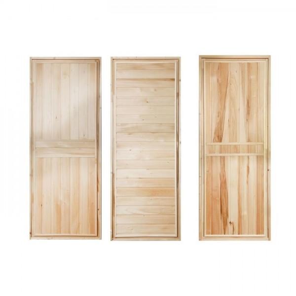"""Дверь банная глухая """"Эконом"""" сорт Б 1800*700 (2011576)"""