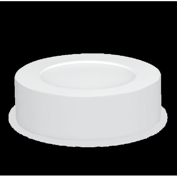 Панель светодиодная круглая NRLP-eco 0845 8ВТ 160-260В 4000К 640Лм 120мм бел. наклад. IP 40 ASD