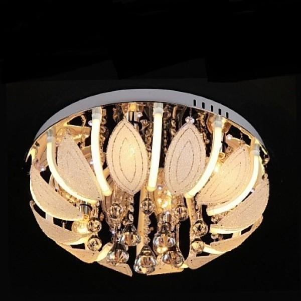 Св-к потолочный с дистанционным пультом Y1094/6+12 6х40W E14+12x3W LED (3000K) LED-WT d500(Пенза)