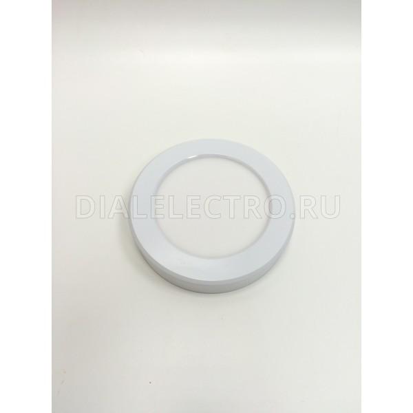 Панель светодиодная круглая NRLP-eco 6Вт 230В 4000К 420Лм 120/100мм бел. IP 40