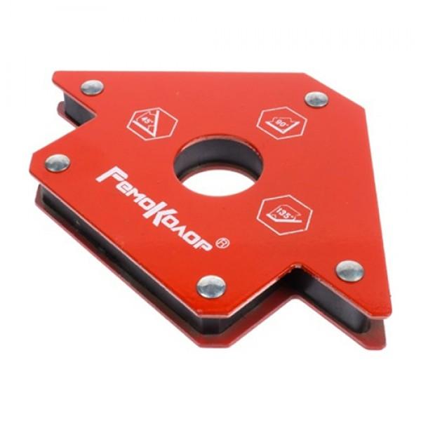 Магнитный угольник для сварки, 30,45,60,75,90 усилие на отрыв 23 кг (4121909)