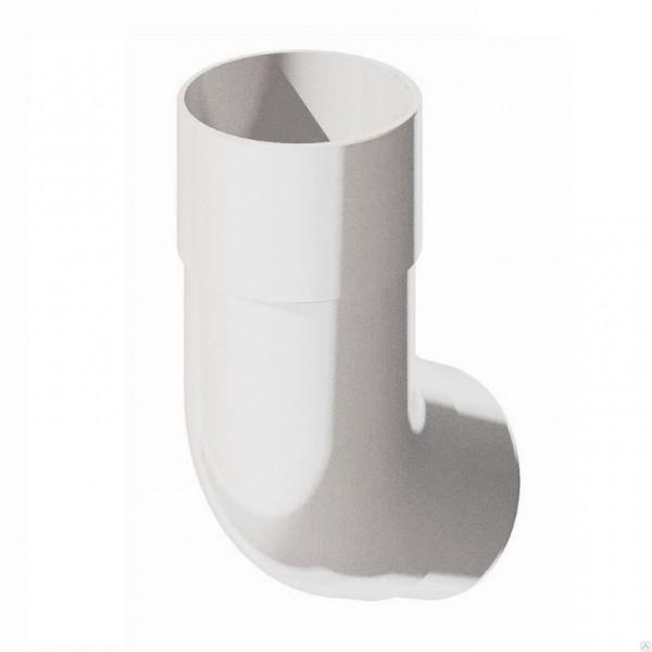 В/сток Колено трубы 135гр, белый Verat