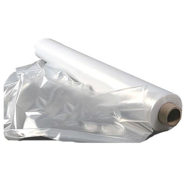 Пленка п/э белая, рукав 1,5м, 100м, 100мк метражом