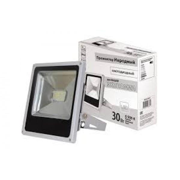 Прожектор LED 30W VLF7-30-6500-mini-G 6500К 2700Лм 220V IP65 VKL electric