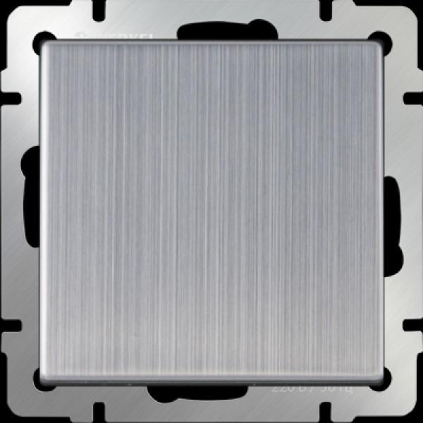 Выключатель  1КЛ WL02-SW-1W/ (глянцевый никель)