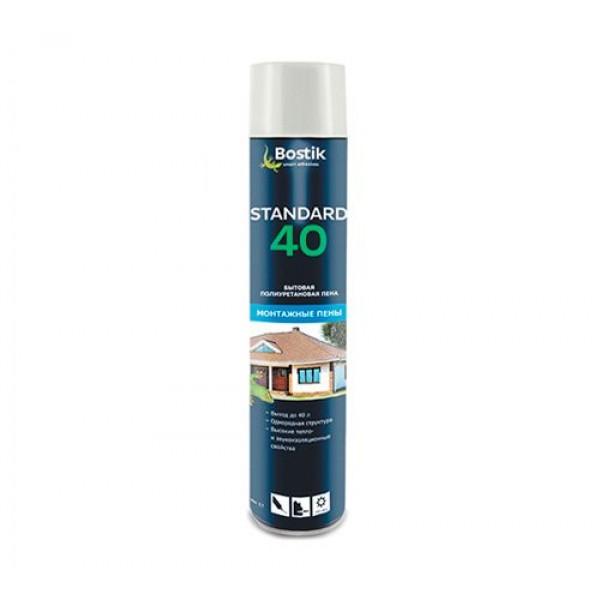 Пена бытовая BOSTIK Standart 40 500 мл (10216)