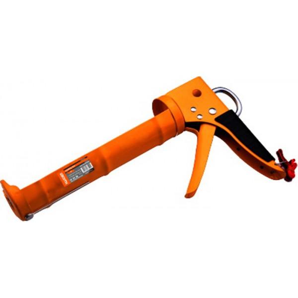 Пистолет д/герметика STAYER PROFESSIONAL закрытый, алюм корпус, 310мл(0673-31)
