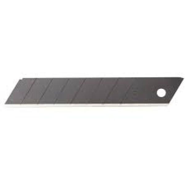 Лезвие сегментированное OLFA  18х100х0,5 мм; 10 шт. (OL-LB-10B)