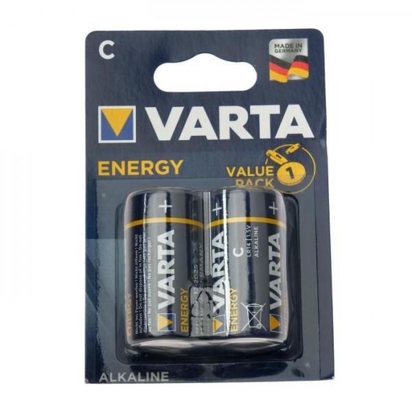 Батарейки LR14 2шт алкалиновые