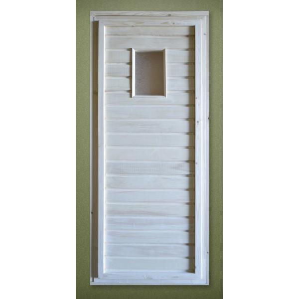 Дверь банная Банный мастер ДС-1 1800х700х35 см, липа (67569)