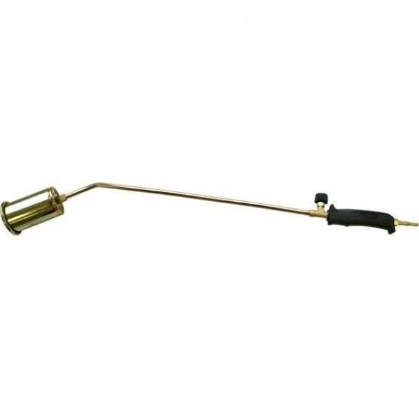 Горелка для кровельных работ, пропановая 60см, с рычажным клапаном (30401)