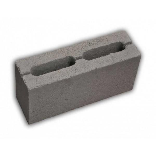 Керамзитоблок перегородочный 390х185х120 (168)